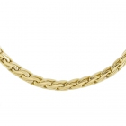 Collier maille S en or jaune - Occasion