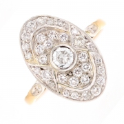 Bague diamants 0.70 carat 2 ors