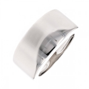 Bague bandeau en or blanc 11grs