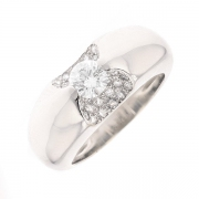 Bague diamants 0.84 carat en or blanc