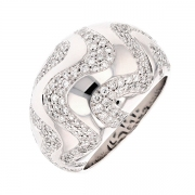 Bague COPACABANNA diamants 1.54 carat en or blanc