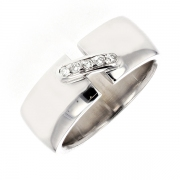 Bague diamants en or blanc 10.85 grs