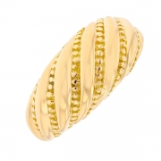Bague en or jaune 9.93grs