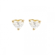 Boucles d'oreilles diamants troïda 0.50 carat en or jaune