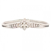 Bracelet diamants 0.95 carat en or blanc