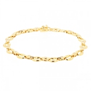 Bracelet diamants 0.37 carat en or jaune