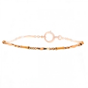 Bracelet en or rose 7.16 grs