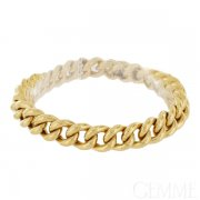 Bracelet Or Jaune Maille Gourmette