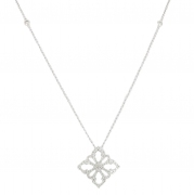 Collier diamants 0,40 carat en or blanc