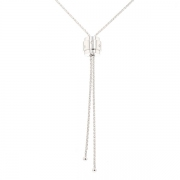 Collier signé PIAGET modèle ligne POSSESSION diamants en or blanc