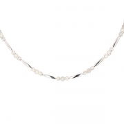 Collier diamants 1.89 carat en or blanc