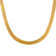 Collier or jaune 19.79grs