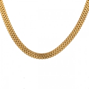 Collier en or jaune 22.26 grs