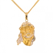 Pendentif Christ 2 ors 13.90 grs