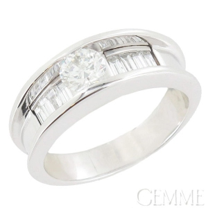 bague or blanc diamant d'occasion