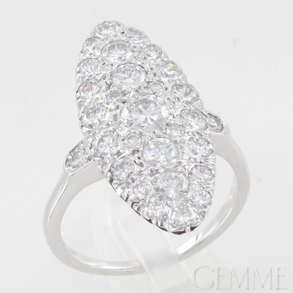 Bague marquise diamant - Marquise pas cher ...
