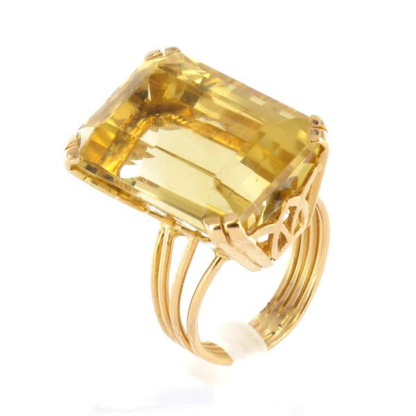 Populaire Bijoux Or Bagues Citrine | Silver Rings OR21