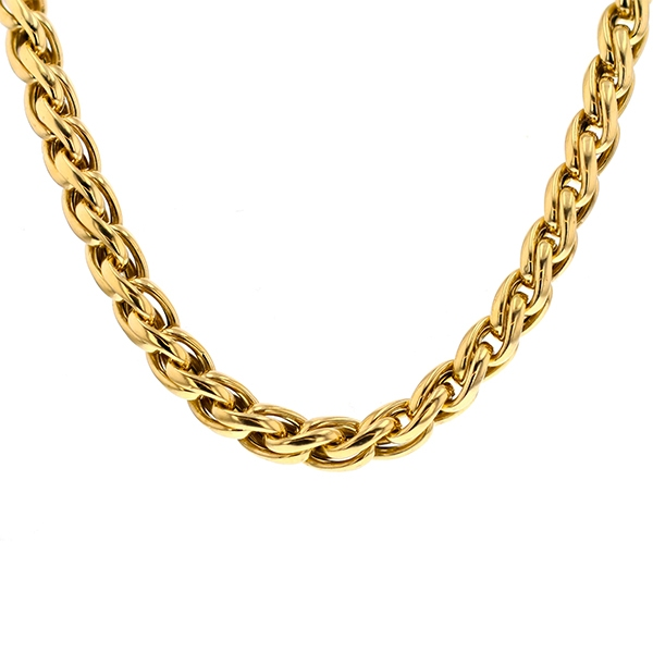 Collier en or jaune 73.94 grs